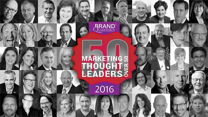 50 marketing thought leaders over 50