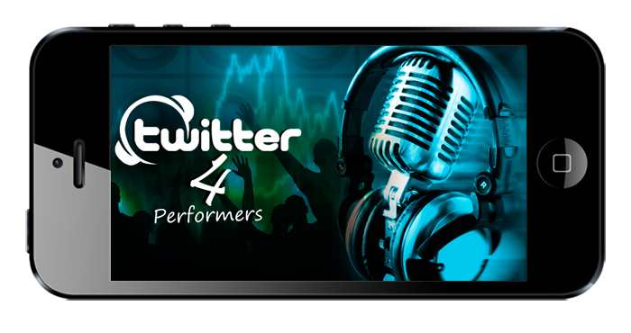 TWITTER 4 PERFORMERS (IPOD LOGO)