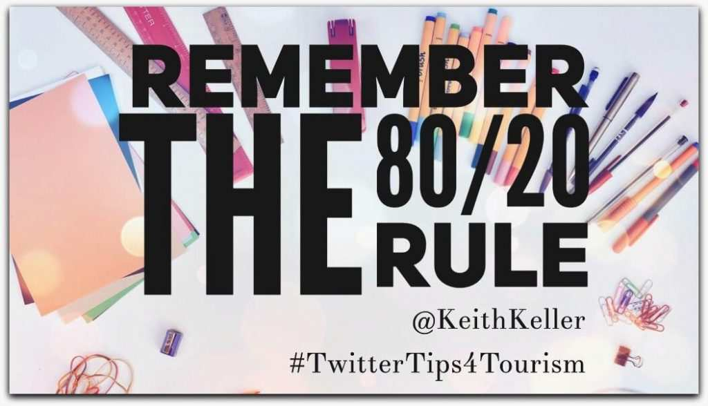 Remember The 80/20 Rule – It's Not All About You