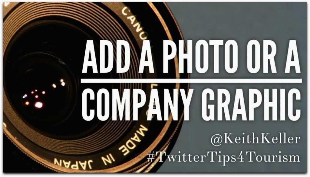 Add A Photo Or Company Graphic