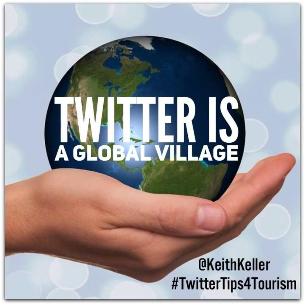 """THE """"TWITTER TIPS 4 TOURISM"""" PODCAST"""