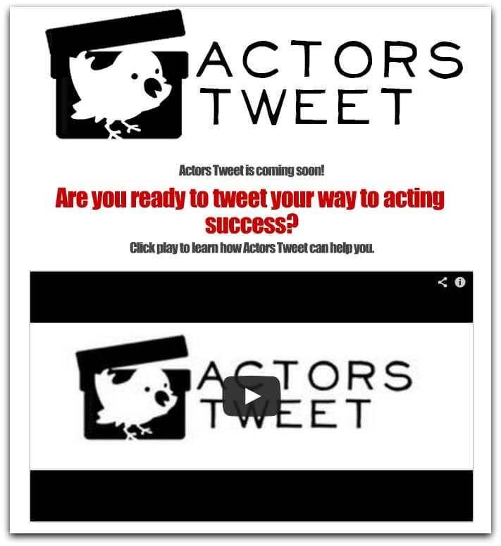 ACTORS TWEET