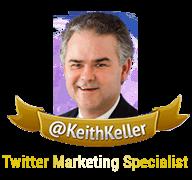 Keith keller Twitter Marketing Specialist