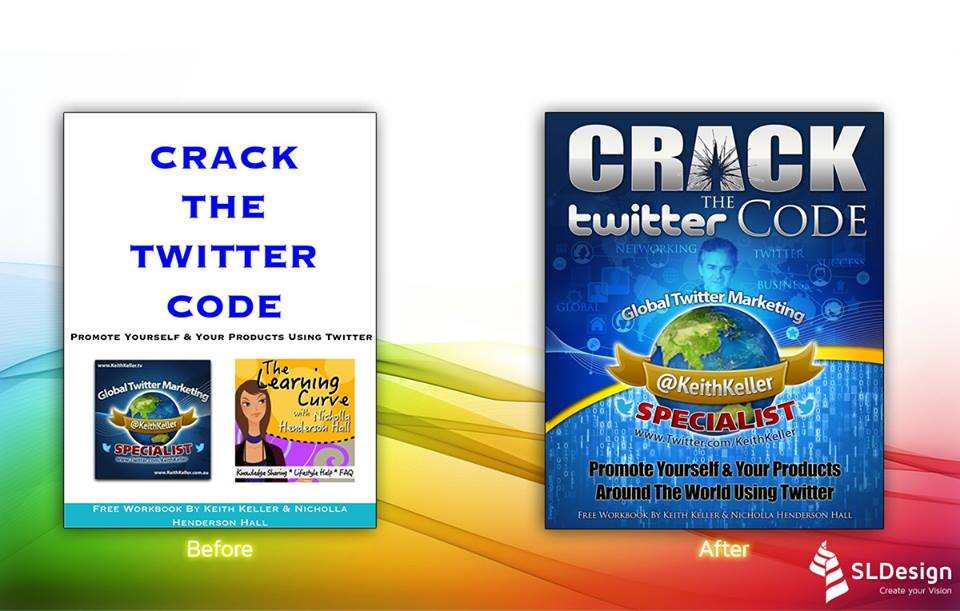 CRACK THE TWITTER CODE - (BEFORE & AFTER FLAT)