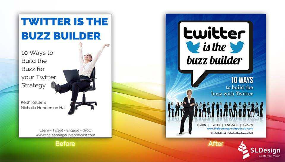 TWITTER IS THE BUZZ BUILDER - BEFORE & AFTER
