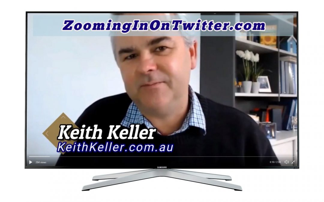 "THE ""ZOOMING IN ON TWITTER"" VIRTUAL WORLD TOUR CONTINUES"