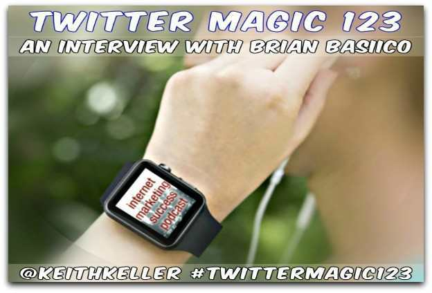 TWITTER MAGIC 123 ((The Bacon Podcast)) @BBasilico Interview With Brian Basilico