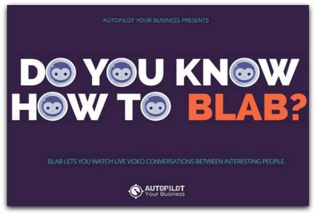 BLAB 101 - ALL YOU NEED TO KNOW