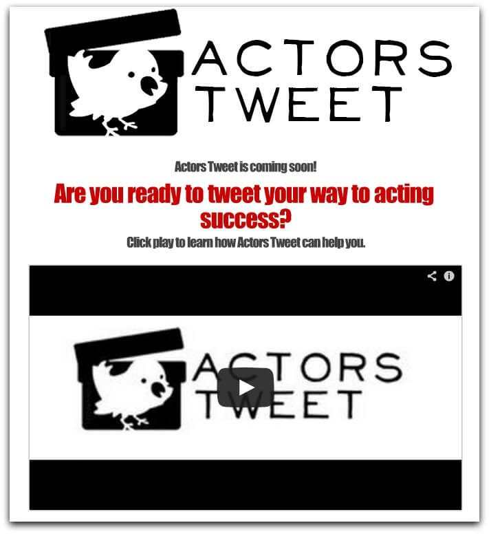 ACTORS TWEET