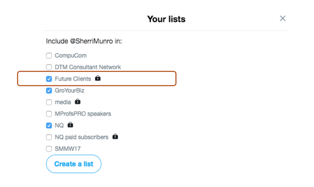 HOW TO USE PRIVATE LISTS ON TWITTER